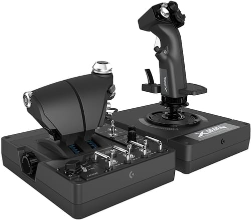 Logitech G X56 Stick Simulation Controller for VR Gaming