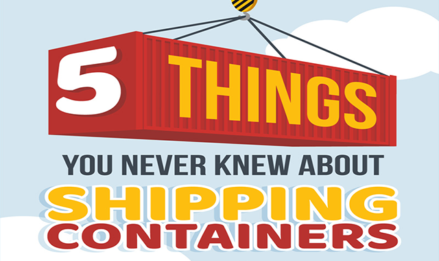 5 Things You Never Knew About Shipping Containers #infographic