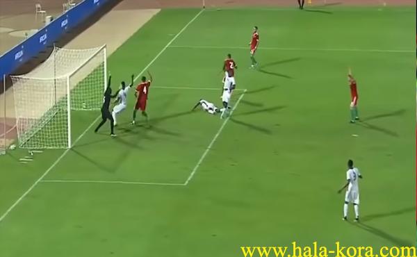 المغرب ضد بوركينا فاسو