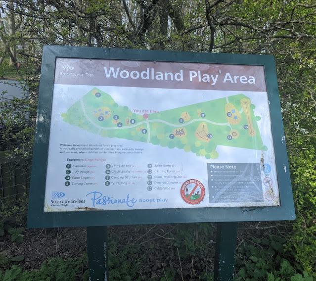 Wynyard Woodland Park : woodland play area map