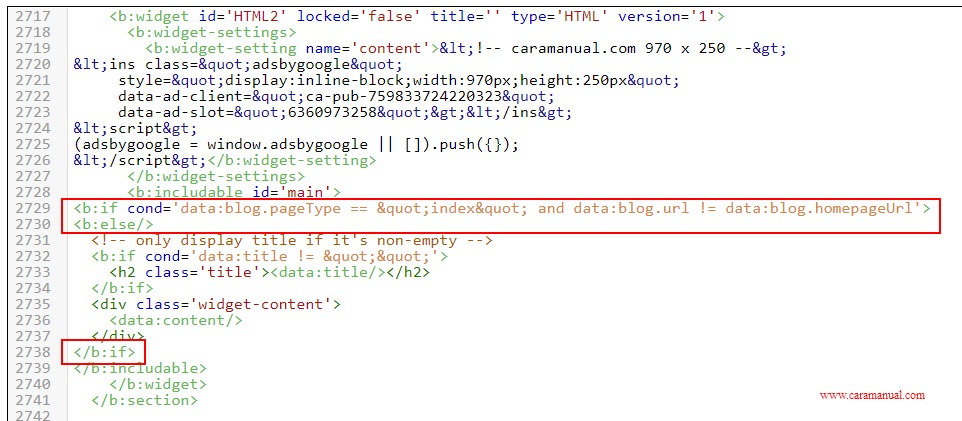 Cara Menyembunyikan Iklan AdSense di Halaman Pencarian Blogger 1