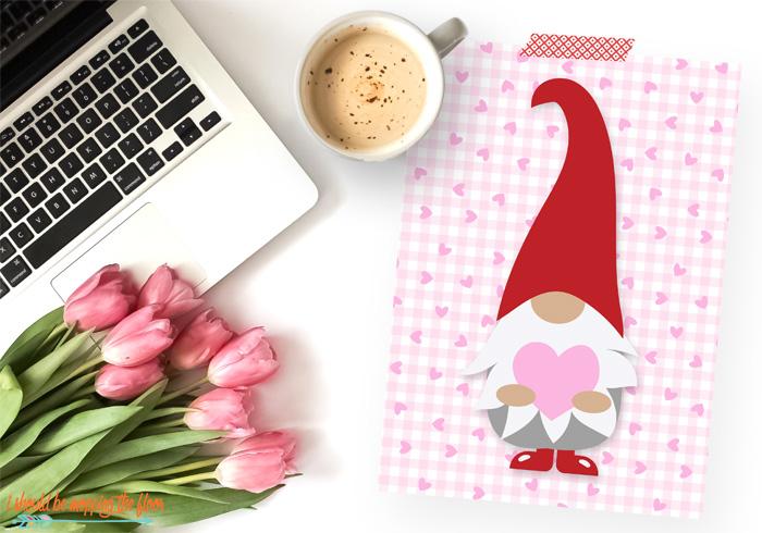 Free Valentine Gnome Printables