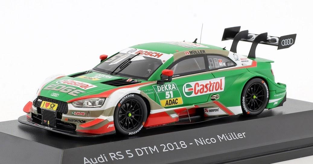 Audi RS 5 DTM 2019 Nico Müller 1:43 Abt Sportsline 5021900333 Modellauto RS5