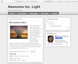 Awesome Inc. Light Theme