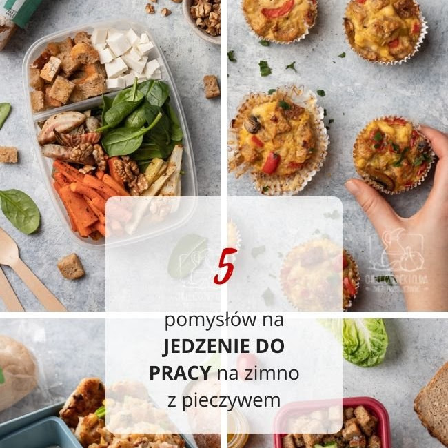 5 pomysłów na jedzenie do pracy na zimno z wykorzystaniem pieczywa