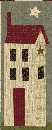 Jan Patek Quilts Big House Tutorial