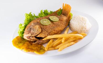 تعرفى على طريقة تحضير السمك البلطى المقلي والارز الصيادية اللذيذ