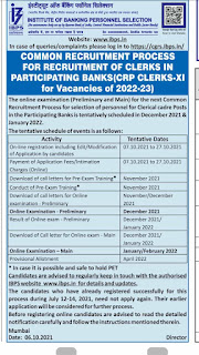 IBPS Clerk Bharti 2021 Notification