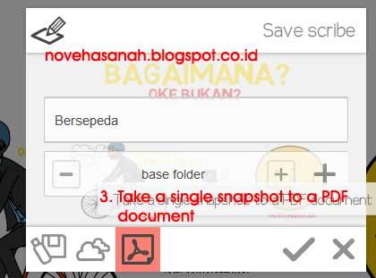 ada 3 pilihan cara menyimpan file. Tetapi yang umum digunakan hanya yang pertama dan kedua saja. Karena cara penyimpanan yang ketiga hanyalah menyimpan file tersebut ke format pdf satu halaman sebagai snapshoot saja.