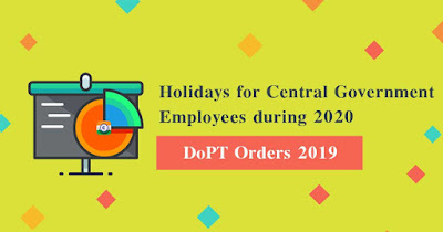 Central-Government-Employees-Holiday-list-2020