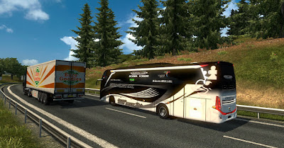 Traffic Pack Bus Indonesia v2.7 by FPS