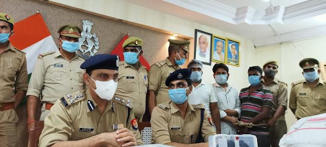 कानपुर नगर पुलिस ने नशे के कारोबार का भंडाफोड़ कर अभियुक्तों को किया गिरफ्तार