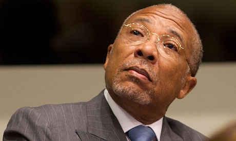 Charles Taylor penjahat perang asal liberia yang di dakwa telah membantai ribuan orang
