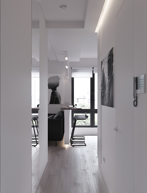 Small, tiny, apartment, under, meter, cozy, studio, design, plan, interior design, house, home, micro, space, spaces, flat