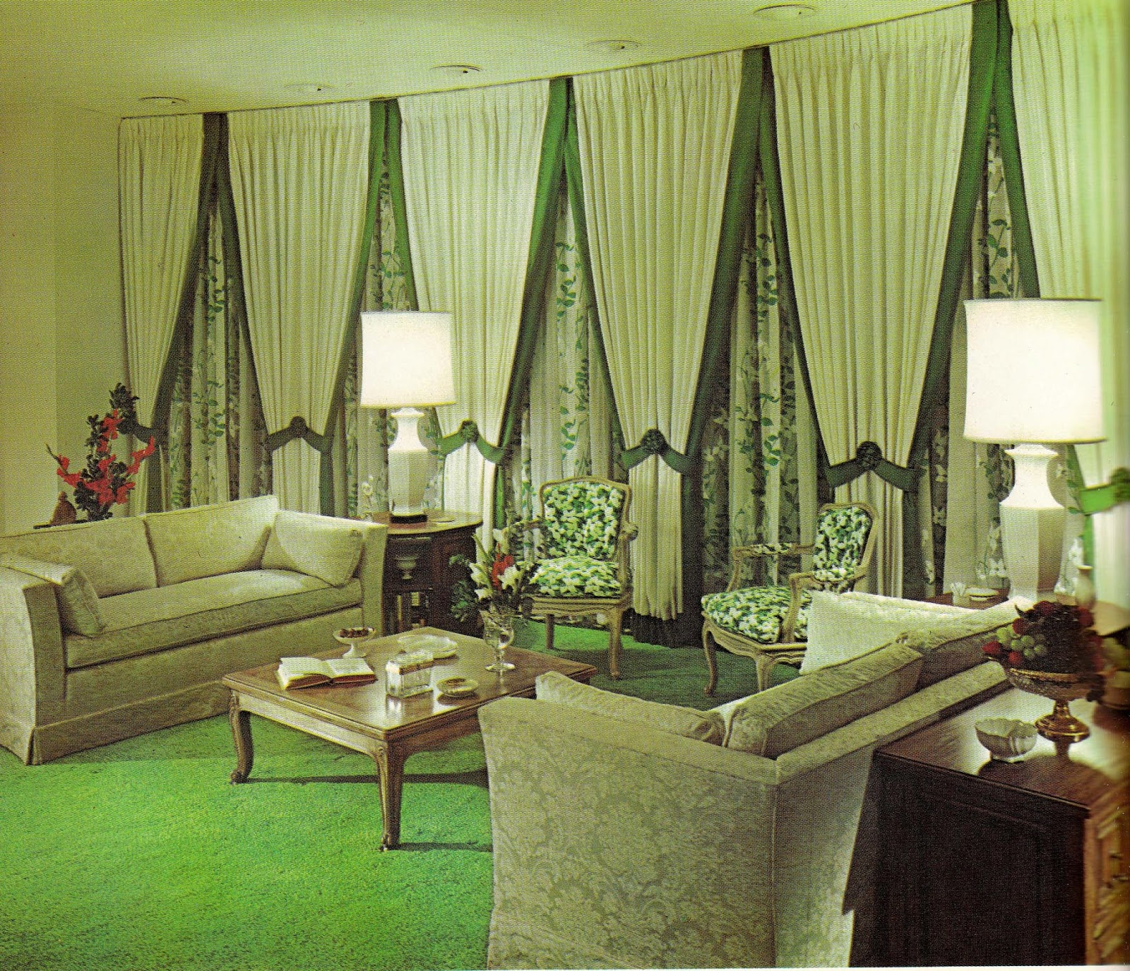 Home Interior Design Decor: 1960s Interior Décor: The Decade Of Psychedelia Gave Rise