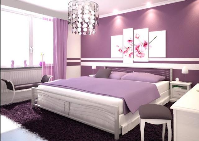 warna cat kamar tidur yang elegan