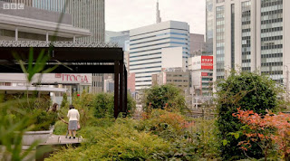 Green space in Tokyo