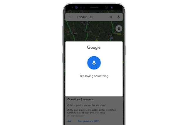 Voice Commands For Google Maps