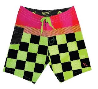 board shorts, swimwear, boardshorts, men's swimwear, swimsuits, Lost, Billabong, Hurley, Lip Ripper Fishing Gear, Fox, style, men's fashion, swim shorts, chubbies, racing, checkered flag, pink, green, racer