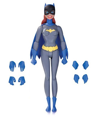 "Batman: The Animated Series ""Gray Suit"" Batgirl Action Figure by DC Collectibles"