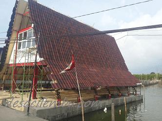 Rumah Baca Apung Tambaklorok Semarang