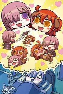 Anime Manga de Wakaru Fate Grand Order Legendado