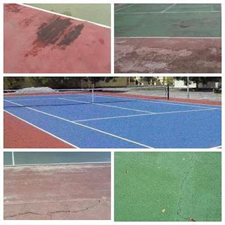 Perbaikan Lapangan Olahraga
