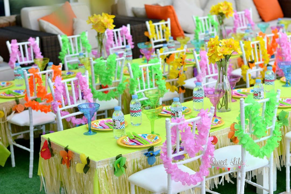 Decoracion Hawaiana Manualidades ~   , decoraci?n y manualidades para fiestas Una linda Fiesta Hawaiana