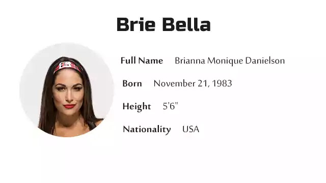 Brie Bella Biography History Net Worth And More