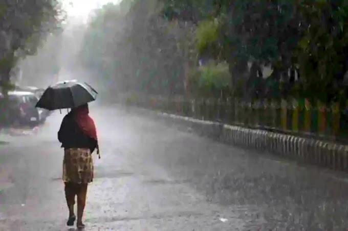बड़ रहा है मौसम की ख़राब थिती । ओडिशा में 5 जिले यैलो  वॉरिंग।