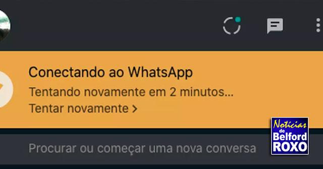 WhatsApp Web fora do ar? Usuários relatam que serviço não funciona