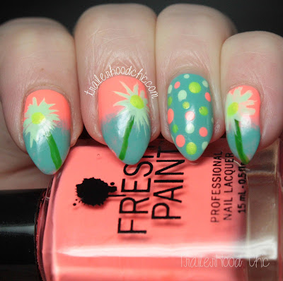 spring floral nails atlanta nail meetup haul