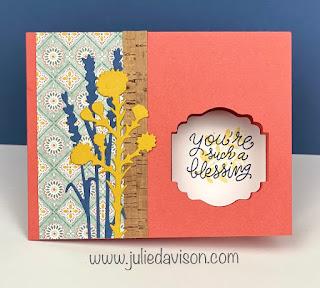 3 Stampin' Up! Little Delights Window Cards + VIDEO ~ Harvest Meadow Suite ~ www.juliedavison.com #stampinup