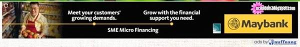 CPUV : Maybank - SME Micro Finance