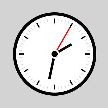 Simple Clock Wallpaper Engine