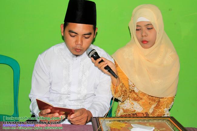 Dokumentasi Foto Akad Nikah LUKI & NUR - luckynur.klikmg.com | Klikmg Fotografer Pernikahan Purwokerto