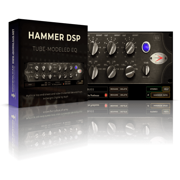 Kush Audio Hammer DSP v1.1.1 Full version