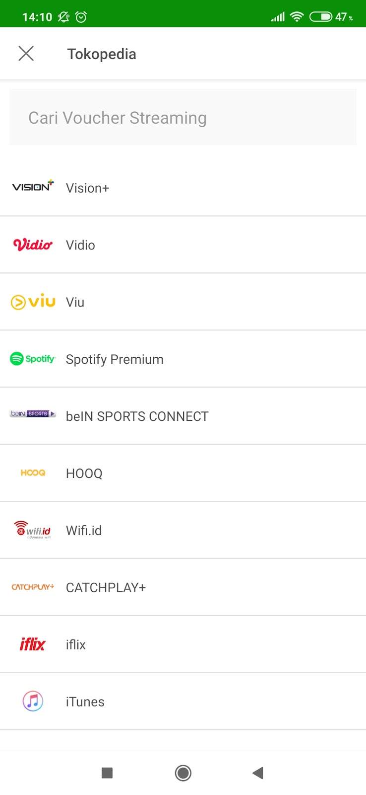 Cara Membayar Spotify Premium Via Tokopedia Aplikasi Website