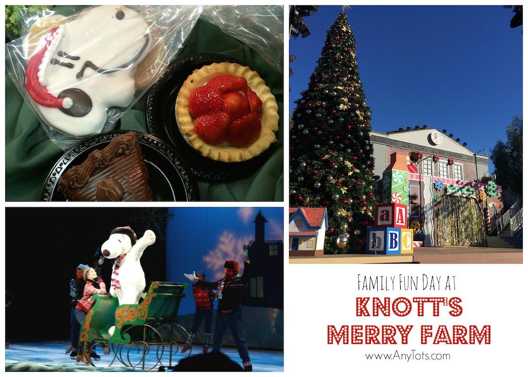 Knott\'s Merry Farm Discount Tickets $25: Knott\'s Holiday 2016 - Any Tots