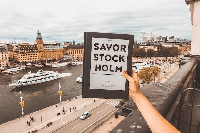 stockholm book overlooking stockholm