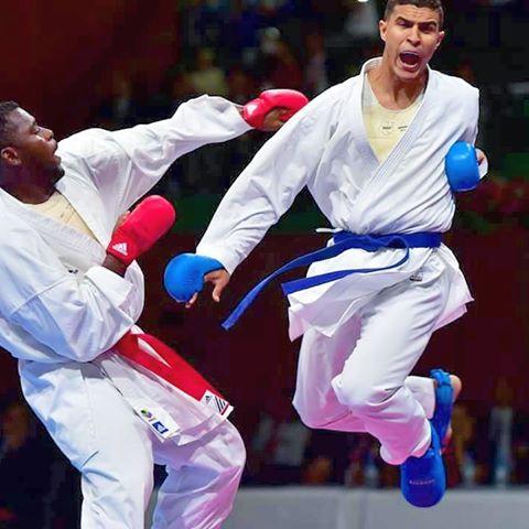Un Marocain classé 2e au championnat du monde de karaté (+84 kg).