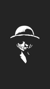 One Piece hitam putih