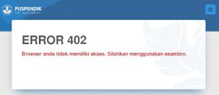 Error 402