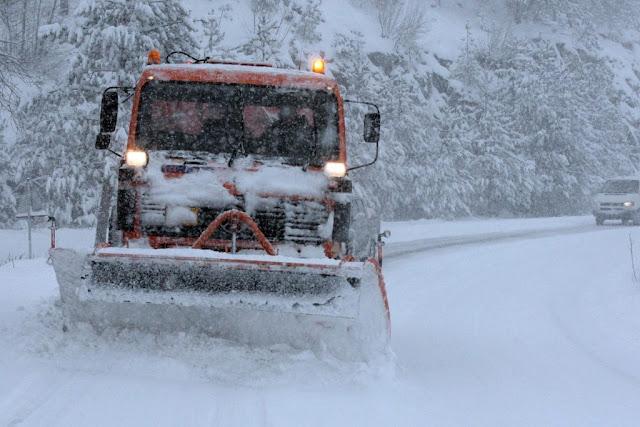 Προβλήματα στο ορεινό οδικό δίκτυο σε Αχαΐα, Κορινθία, Αρκαδία και Λακωνία