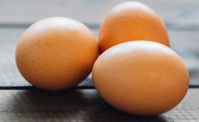 telur di dalam frezer