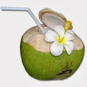Drinking Coconut Water While Working Out