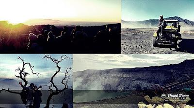 Mount Bromo Ijen Crater trekking tour package 3 days 2 nights