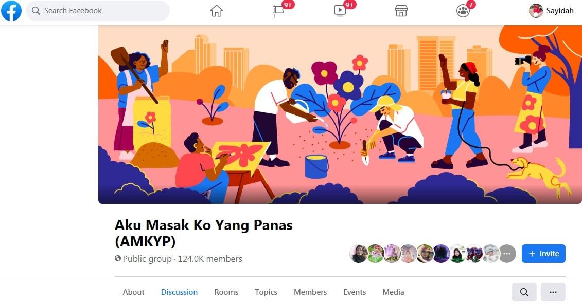 group facebook masakan share aneka resepi kuih resipi viral