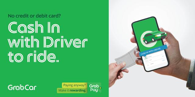 Cash-in via Grab Driver