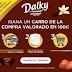 Dalky te regala 100€ para tu próxima compra